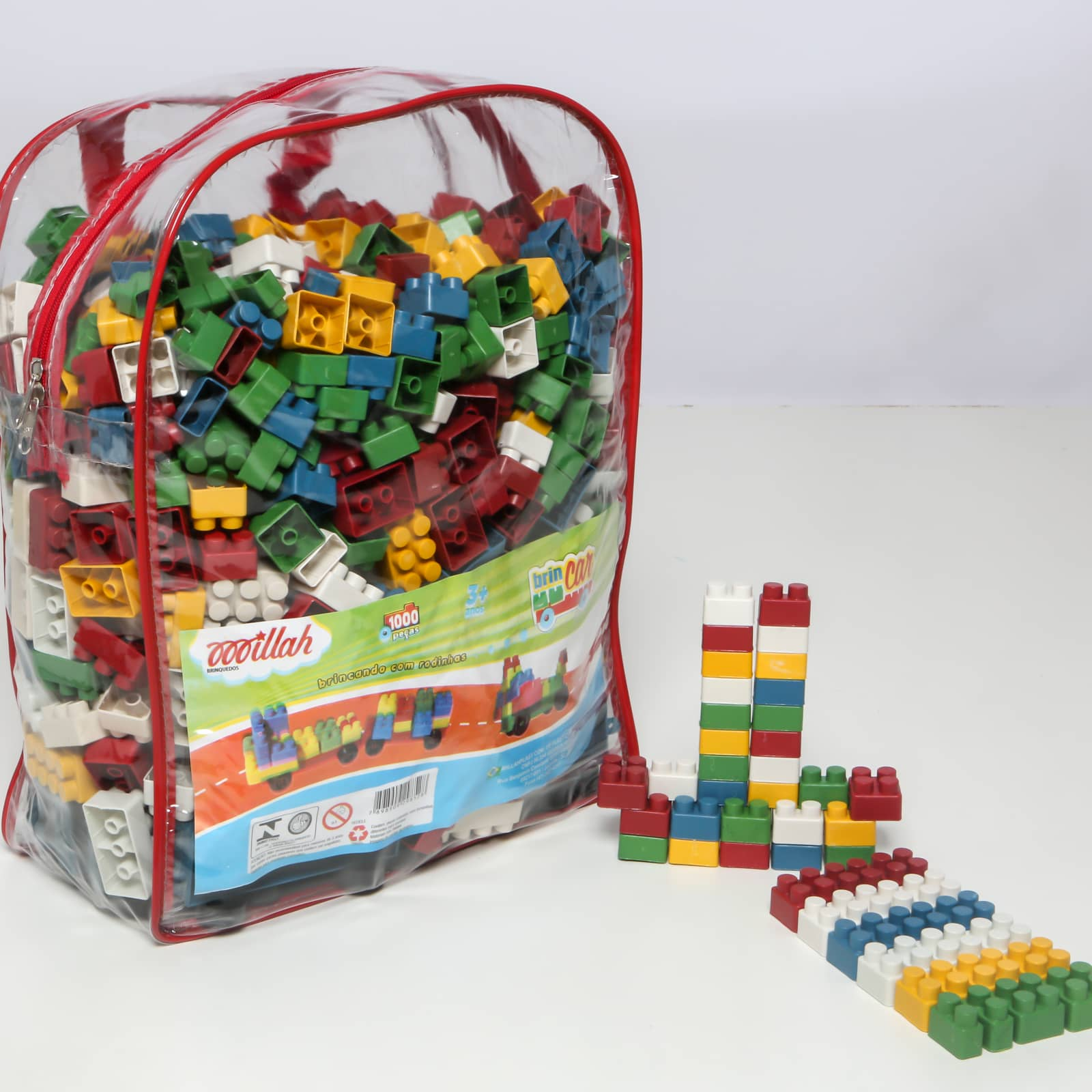 Brincar 1000 peças - Ref 041