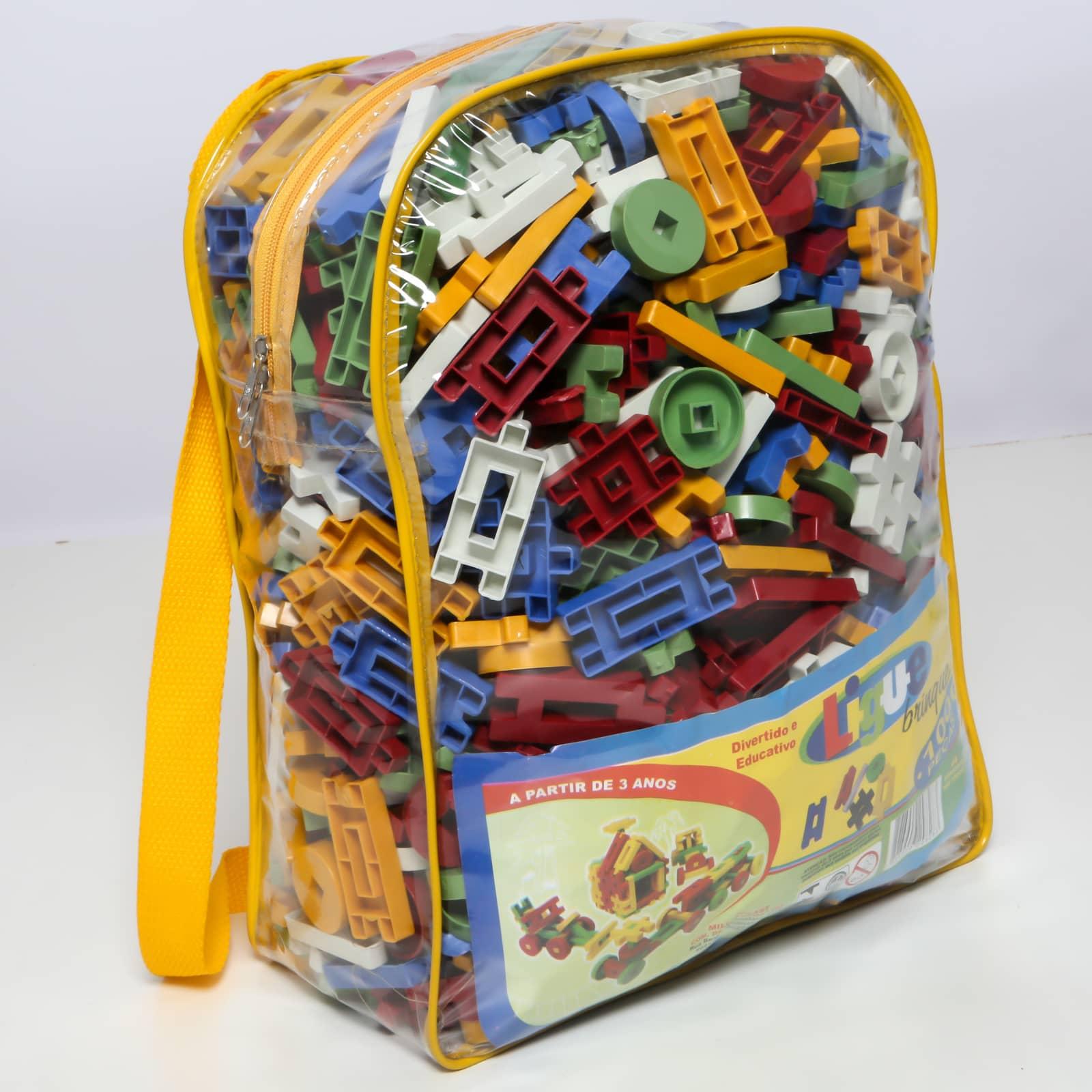Ligue Brinque 1000 peças - Ref 109