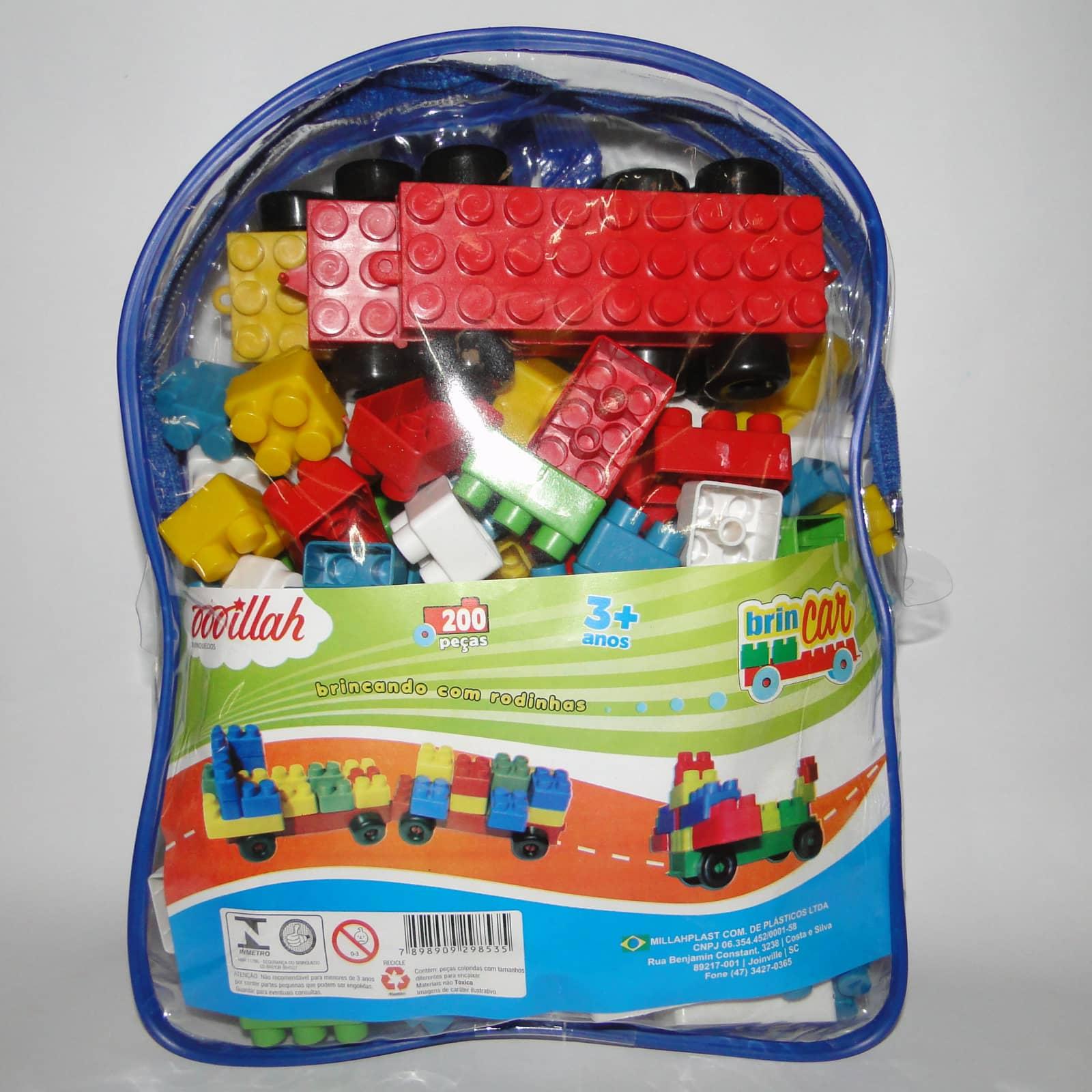 Brincar 200 peças - Ref 040